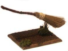 tutorial: miniature flying broom by Debie Lyons (AIM #16, page 44)