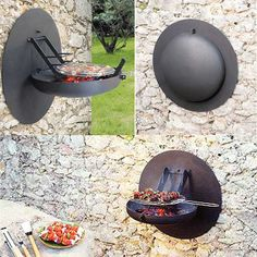 Compact, easy to use, fabulous! Bbq Grill, Grilling, Parrilla Exterior, Garden Design, House Design, Outdoor Living, Outdoor Decor, Backyard Landscaping, Home And Garden