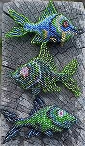 beaded fish ornaments - Yahoo Image Search Results