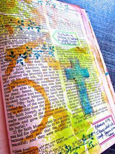 Bible Journaling : Hebrews 11:13   Bonita Rose