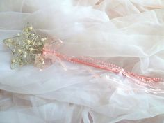 Pink Flower Girl Wand Flower Girl Wand, Fairy Wands, Winter Wonderland Wedding, Creative Inspiration, Wedding Anniversary, Pink Flowers, Bridal Showers, Trending Outfits, Unique Jewelry