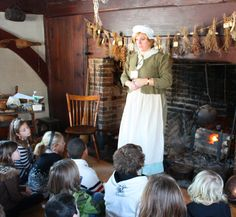 School Programs At The Wenham Museum, How we lived, worked, dressed, and played