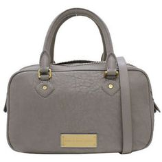 NWT-Marc-By-Marc-Jacobs-WASHED-UP-VALENTINA-Satchel-Light-Grey-428