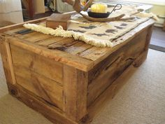 Want this Barn Board table!!
