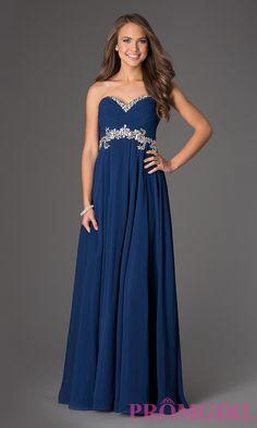 Floor Length Strapless Sweetheart Dress $363.99 Prom 2015