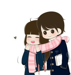 Love Cartoon Couple, Cute Couple Comics, Chibi Couple, Cute Love Cartoons, Cute Couple Art, Anime Love Couple, Cute Couple Pictures, Cute Anime Couples, Cute Cartoon