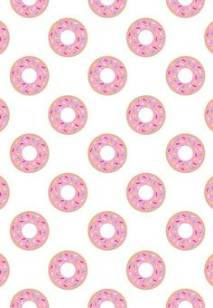 Image via We Heart It https://weheartit.com/entry/144340399/via/4936365 #background #cool #eat #food #pink #wallpaper #donnas #dunut