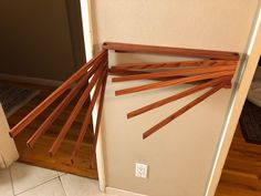 Excited to share the latest addition to my shop: Vintage Inspired Handcrafted Wall Mount Clothes Drying Rack Laundry Drying Rack Wall, Wall Mounted Drying Rack, Clothes Drying Racks, Small Laundry Rooms, Laundry Room Design, Laundry Closet, Mobile Home Kitchens, Laundry Room Inspiration, Laundry Room Organization