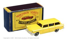 Matchbox Regular Wheels No.31A 1956 Ford Customline Station Wagon   Vectis Toy Auctions