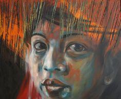 Anima di paglia  Olio su tele 110x90 2015 Painting, Art, Art Background, Painting Art, Kunst, Paintings, Performing Arts, Painted Canvas, Drawings