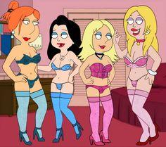 Family Guy American Dad Hentai Hot Girls Wallpaper Sexy