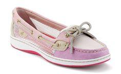 Sperry Top-sider Women's Angelfish Slip-On Boat Shoe in PINK!