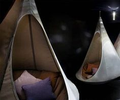 The Cacoon makes camping a lot more appealing by elevating you off of the ground while you sleep. The hanging tent design is not only more comfortable than sleeping on the hard ground, but keeps more bugs away.