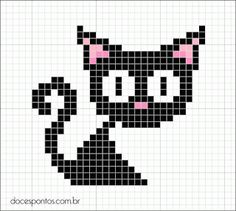 Bilderesultat for moomin knitting pattern Cross Stitch Cards, Beaded Cross Stitch, Cross Stitch Animals, Cross Stitching, Cross Stitch Embroidery, Pixel Crochet, Crochet Chart, Cat Crochet, Pixel Pattern
