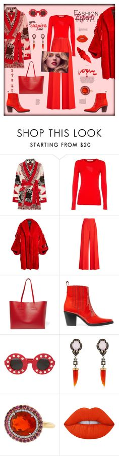 """""""You inspire me"""" by zabead ❤ liked on Polyvore featuring Alanui, Diane Von Furstenberg, Dolce&Gabbana, Roland Mouret, Tom Ford, Ganni, Linda Farrow, Iosselliani, Irene Neuwirth and Lime Crime"""