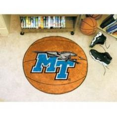 """Middle Tennessee State Blue Raiders 29"""" Round Basketball Mat"""