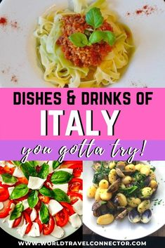 The ultimate guide to the best Italian food. I Traditional Italian food I Best Italian foods I Best Italian dishes I Authentic Italy food I Best Italian Pasta dishes I Best Italian appetizers I Classic Italian dishes I Famous Italian dishes I Popular Italian food I Popular Italian dishes I Famous food from Italy I Italian desserts I Top 10 Italian dishes I #healthy #cuisine #Italy #travel #dishes #Italian #unique #simple #side #Rome #Florence #Venice #pasta #traveltips #vegetarian #vegan… Best Italian Dishes, Traditional Italian Dishes, Best Dishes, Italian Recipes, Italian Foods, Italian Desserts, Italian Pasta, Travel Abroad, Travel Europe