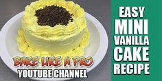 NEW ! Easy Mini Vanilla Cake Recipe Click the image to see the video recipe