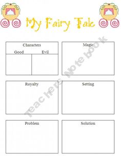 Fairy Tale Organizer