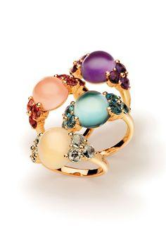 Pomellato Posted by Brusilla Stone Jewelry, Jewelry Rings, Jewelery, Jewelry Accessories, Fashion Accessories, Fashion Jewelry, Jewelry Design, Unique Jewelry, Jewellery Earrings