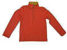 Ralph Lauren L/s Shirt 1/4 Zipper Front Girls Size 6 Neon...