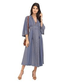 Free People Modern Kimono Maxi Dress