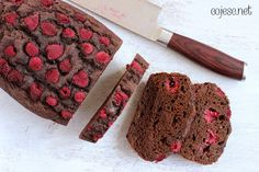 czekoladowe z malinami