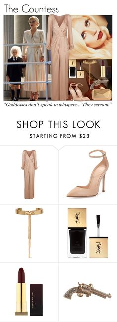 """Screen Style: AHS Hotel"" by s246 ❤ liked on Polyvore featuring Alexander McQueen, Gianvito Rossi, Eddie Borgo, Yves Saint Laurent, Kevyn Aucoin, Chanel and Armitage Avenue"