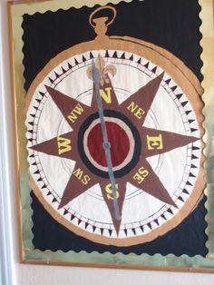 "VBS-Compass- Maybe title could say... ""Let Jesus be the Compass of Your Life"""