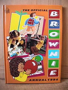 The Brownie Annual. Girl Guides. 1994.