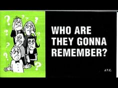 WHO ARE THEY GONNA REMEMBER?, Jack Chick Tract - YouTube