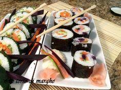 Un'idea per preparare il sushi (fantasie di sushi)