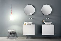 Compact Size Bathroom Cabinet by Marco Taietta