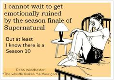 #supernatural YAY....season finales ruin our souls...but the promise of a new season makes it all better!