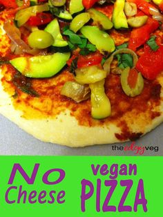 59 best vegan junk food recipes images on pinterest vegetarian no cheese vegan pizza vegan fast foodvegan junk forumfinder Images