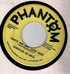 NORTHERN/SWEET SOUL 45 'DISCIPLES OF SOUL'~Together/That's The Way Love Goes~VG #Soul