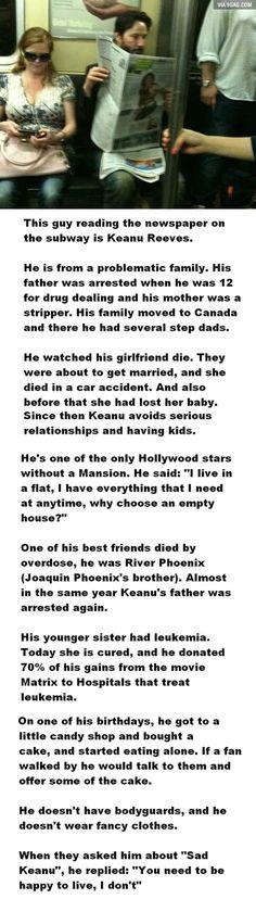 Good Guy Keanu Reeves