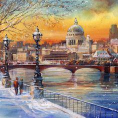 Jim Mitchell - Artist - London, St Pauls Cathedral