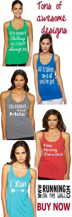 Running tank top for women -  running shirt
