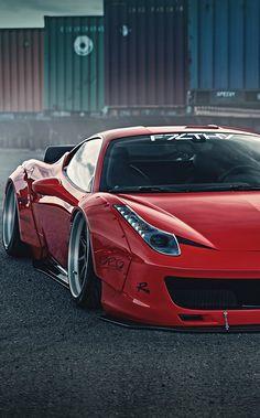 Ferrari 458 LibertyWalk