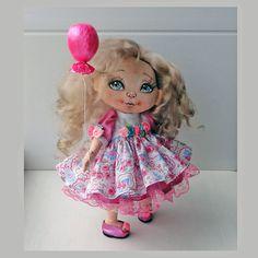 Лика - текстильная кукла