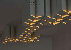 Cones, by PSLAB lighting, Lebanon