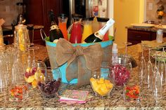 Mimosa bar for our bridle shower!