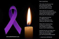 For domestic violence survivors