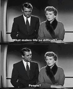 There should not be a question mark in that second frame. People. People, is unequivocally the right answer.