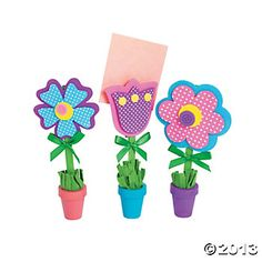Flower Photo Holder Craft - Cute Craft or Party Favor