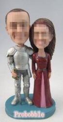 Custom cake toppers Knights and princess Funny Cake Toppers, Custom Cake Toppers, Custom Cakes, Bobble Head, Design Your Own, Knights, Smurfs, My Photos, Dog Cat