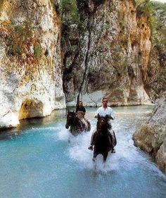 Axerontas river, Greece