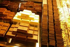 Are you a chocolate lover? I recommed you this chocolaterie called Fassbender&Rausch Chocolatiers and it is situated near Gendarmenmark square in Berlin. Chocolate Dreams, Chocolate Lovers, Germany Travel, Berlin, Tourism, Awesome, Turismo, Germany Destinations, Travel