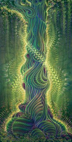 digital visionary art by simon haiduk titled caduceus